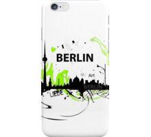 Berlin skyline abstract iPhone Case/Skin