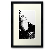 Source of Fibre Framed Print