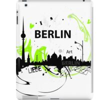 Berlin skyline abstract iPad Case/Skin