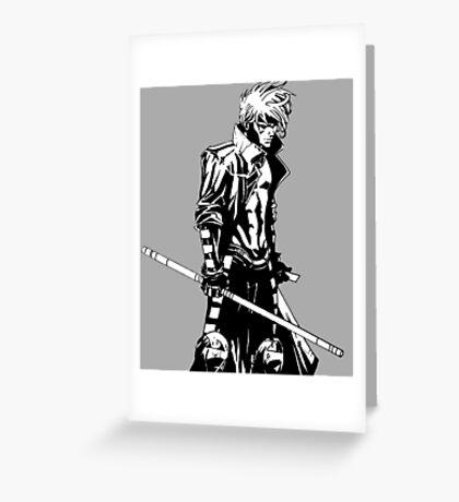 Gambit XMen Comic Art Greeting Card