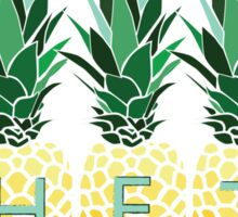 THETA Pineapples Sticker