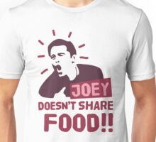 Joey doesn't share food (Red) Unisex T-Shirt