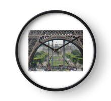 Eiffel Tower Paris Clock