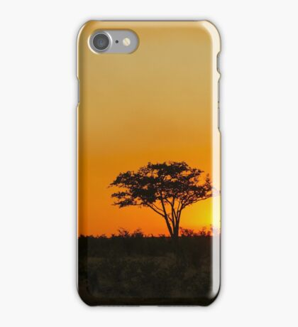 Botswana Sunset iPhone Case/Skin