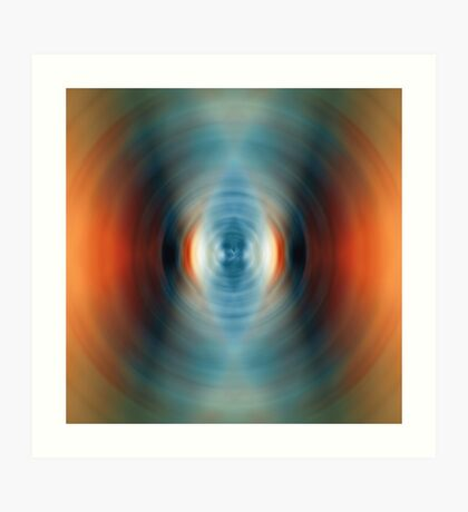Vitality - Energy Abstract Art By Sharon Cummings Art Print