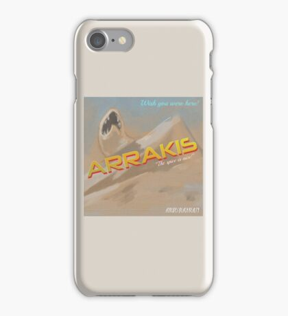 Dune Arrakis Vacation iPhone Case/Skin