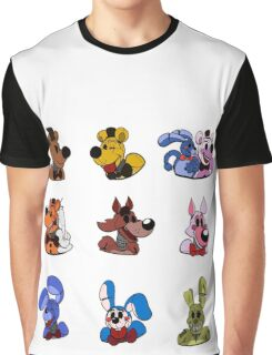 Five Nights in the 30s set Graphic T-Shirt
