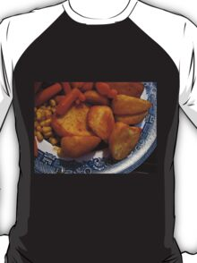Roast Potatoes with Carrots and Sweet Corn T-Shirt