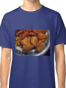 Roast Potatoes with Carrots and Sweet Corn Classic T-Shirt