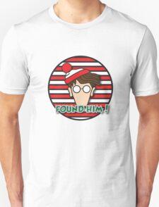 Found Waldo! Unisex T-Shirt