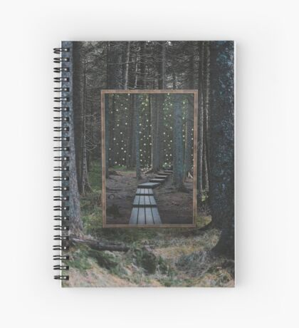 Mirror Of The Soul Spiral Notebook