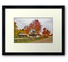 Old village Framed Print