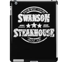 Swanson Steakhouse iPad Case/Skin