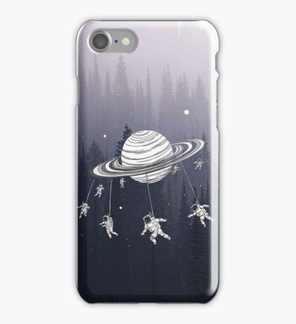 Space Swinging iPhone Case/Skin