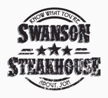 Swanson Steakhouse (inverted) by heythisisBETH