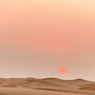 Sunset in the desert ... by M-Pics