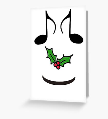 CHRISTMAS GIFTS - MUSIC FOR THE WHOLE FAMILY -  SOLD Greeting Card
