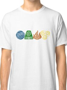 Water, Earth, Fire, Air Classic T-Shirt
