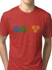 Water, Earth, Fire, Air Tri-blend T-Shirt