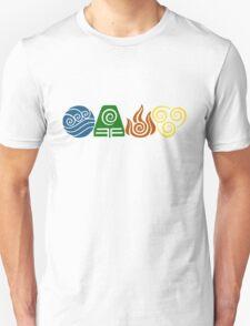 Water, Earth, Fire, Air Unisex T-Shirt