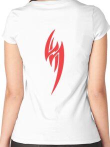 JIN KAZAMA Women's Fitted Scoop T-Shirt