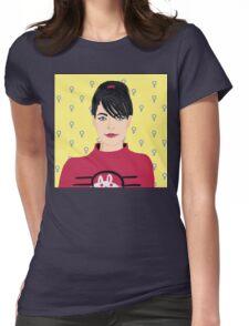 Kathleen Hanna Womens Fitted T-Shirt