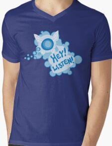 Navi Zelda Mens V-Neck T-Shirt