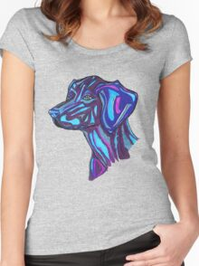Cosmic Dog Women's Fitted Scoop T-Shirt