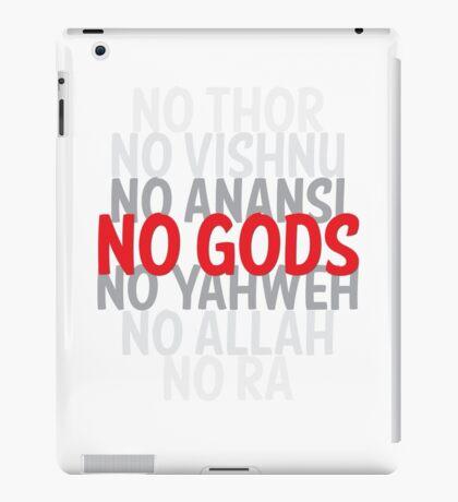 No Gods iPad Case/Skin