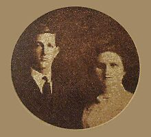 My Grandparent's Wedding Picture- Cross Stitch by BCallahan