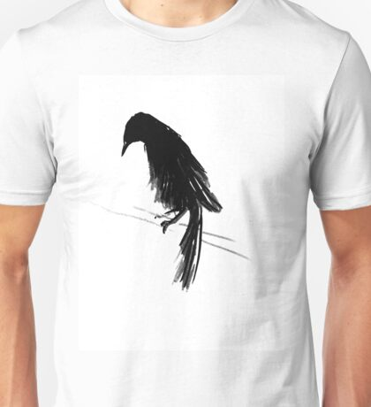 Crow Against The Wind II Unisex T-Shirt