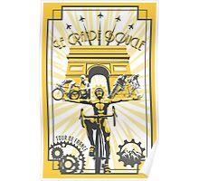 Le Grande Boucle Tour de France Poster Poster