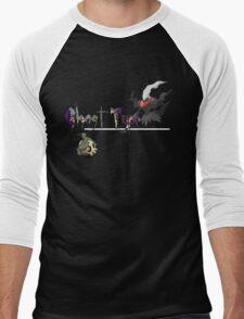 Ghost Type Pokemon Men's Baseball ¾ T-Shirt