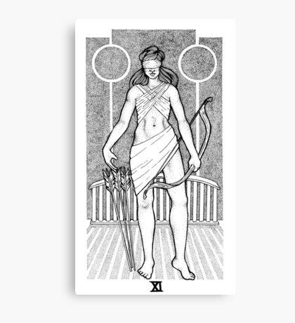 Tarot: Justice  Canvas Print