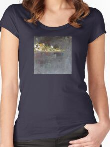 Memory of a vacation #5 Women's Fitted Scoop T-Shirt