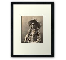 Antoine Moses - Flatheads Framed Print