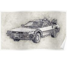 DeLorean DMC-12 Back To The Future Episode 1 Poster
