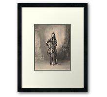 Dust Maker - Indian Portrait Framed Print