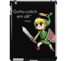 Childhood Destruction (Pokemon, Zelda, Mario) iPad Case/Skin