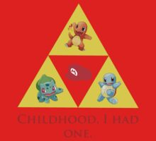 Tri-Force of Awesome (Zelda, Pokemon, Mario) Kids Clothes
