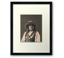 Chief Josh - Apache Framed Print