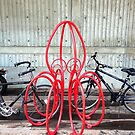 Octopus Bicycle Friend by Nicole a Alley