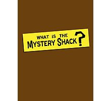 What IS the Mystery Shack? Photographic Print