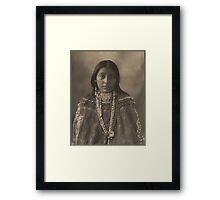 Hattie Tom - Apache Framed Print