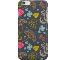 Dark pond pattern. iPhone Case/Skin
