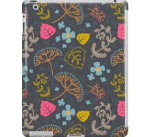 Dark pond pattern. iPad Case/Skin