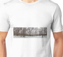 Winter Landscape with Trees Unisex T-Shirt