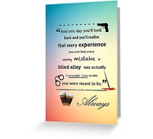 Meant to be Greeting Card