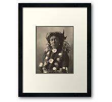 Cloud Man - Assinaboine Framed Print