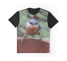 Quick, grab the peanuts before the blue tits come back Graphic T-Shirt